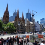 Melbourne  St Pauls Cathedral